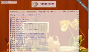 Wikistream показує потік подій у Вікіпедії в реальному часі