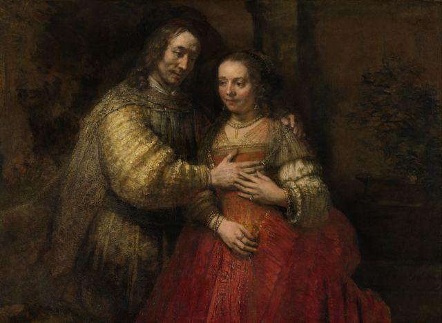 Ісаак і Ребекка. Рембрант (ca. 1665-1669)