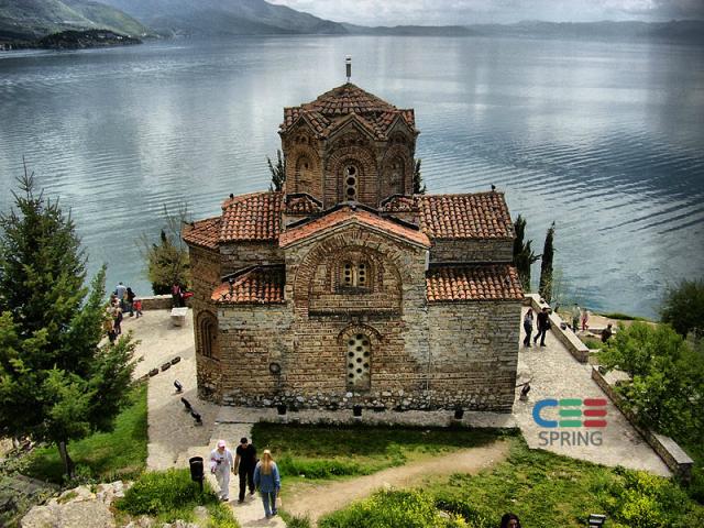 Церква святого Іоанна Теолога в Канео, Македонія