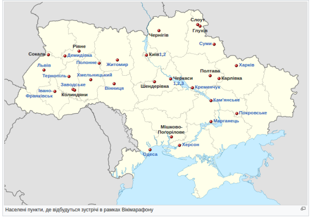wikimarathon map