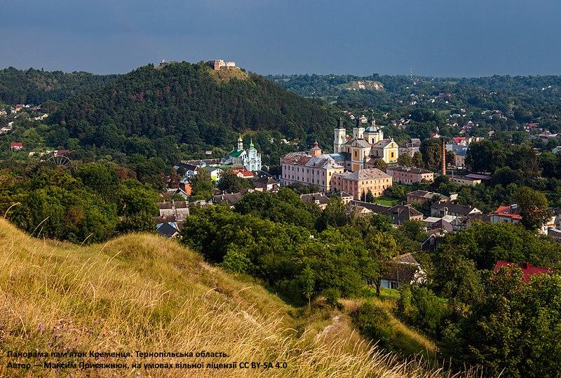 Панорама пам'яток Кременця. Тернопільська область. 7 місце. Максим Присяжнюк, вільна ліцензія CC BY-SA 4.0